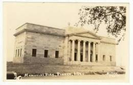 RP: Memorial Bldg, Pierre, South Dakota, 20-40s - Unclassified