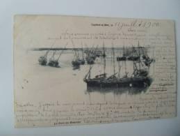 Cayeux Le Port Du Hourdel Carte Precurseur Somme - Cayeux Sur Mer