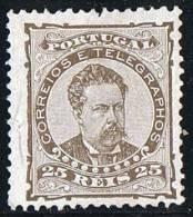 1882  Don Luiz  25 R  Dentelé / Perf 12½ * MH - 1862-1884 : D.Luiz I