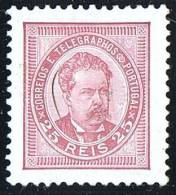 1882  Don Luiz  25 R  Dentelé / Perf 11½ * MH  Réimpression De 1900 Reprint - 1862-1884 : D.Luiz I