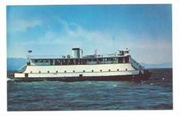 M.R. CHESSMAN Ferry Ship, Megler, Washington, 40-50s - United States