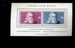Bloc BASEL 1948 Sans Colle Et Sans Défaut - Blokken