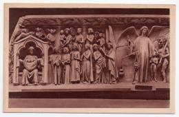 Bourges, Cathédrale Saint-Etienne, Partie Du Tympan De La Porte Centrale (XIIIe S.), Les Elus, ND N° 175, Anges - Bourges