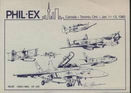 Aviation Card Canada Plil-Ex - Flugzeuge