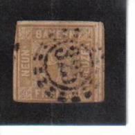 ÖMV118 BAYERN 1862 MICHL NR. 11 I PLATTENFEHLER GESTEMPELT - Bayern