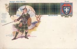 Clan MacArthur - Badge: Wild Myrtle; Arms, Tartan - Généalogie