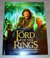 The Lord Of The Ring Trilogy Photo Guide Harper Collins 2004 Peter Jackson - Films