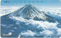 JAPAN - Volcano(250-257), 04/89, Used - Volcans