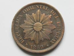 4 Centesimos 1869 - URUGUAY - Républica Oriental Del Uruguay. - Uruguay