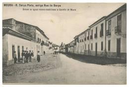 PORTUGAL MOURA R. Serpa Pinto, Antiga Rua Da Serpa Carte Postale - Beja