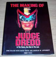 The Making Of Judge Dredd Jane Killick Boxtree 1995 Sylvester Stallone As Judge Dredd! - Films