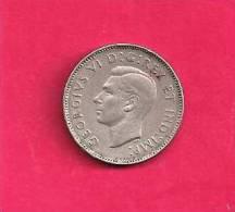 CANADA 1939, Circulated Coin, XF, 5 Cent George VI, Nickel, Km 33, C90.026 - Canada