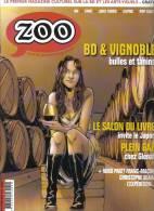 Zoo N°38 De 2012 Espé Blain Pratt Squarzoni BD Et Vin.. - Spirou Magazine