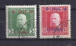 Bosnie-Herzégovine YT 91-92 - Bosnien-Herzegowina