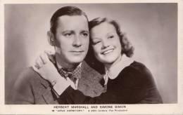 RARE - CINEMA - HERBERT MARSHALL AND SIMONE SIMON In Girls Dormitory - 20th CENTURY FOX - Nr. Fs 92 - Long Acre - Attori