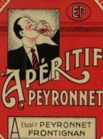 "Etiquette ""APERITIF PEYRONNET"" - Etichette"