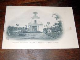 Carte Postale Ancienne : Ile De  La Réunion : SAINT-BENOIT , L´Eglise - Saint Benoît