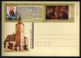 Poland Pologne. King Roi Jan Kazimierz Vasa In Lwow Cathedral. Postal Stationery, 2006. - Entiers Postaux
