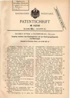 Original Patentschrift - J. Spyker In Trompenburg , 1905 , Kupplung Für Automobile , Motorwagen !!! - Auto's