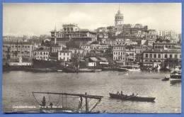 CONSTANTINOPEL, Pera Et Galate, 1920 - Türkei