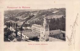 Pensionnat De Malonne Eglise Et Classes Inférieures - Namur