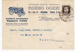 9239 MODENA GOZZI FORD TRATTORE TRACTOR - Italie