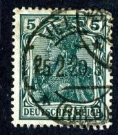 441  Reich 1915  Mi.# 85 II  (o) - Alemania