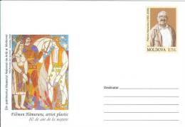 Moldova 2012 80th Birth Anniversary Of Filimon Hamuraru Plastic Artist - Moldova