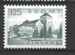 Finlande 1961 N° 509 Chateau De Turku