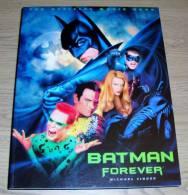 Batman Forever The Official Movie Book Michael Singer Mandarin 1995 - Films