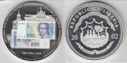 **** LIBERIA  - 10 - TEN DOLLARS 2002 - ADIEU A LA MONNAIE ALLEMANDE **** EN ACHAT IMMEDIAT - Liberia