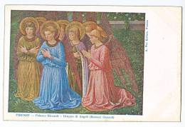 Angel Lot Of 2 Carte Postale Religious Christmas Art Painting Original Postcard Cpa Ak (W3_1398) - Paintings, Stained Glasses & Statues