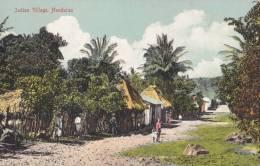 Postcard Indian Village 1900-1910( Postally Not Used) - Honduras
