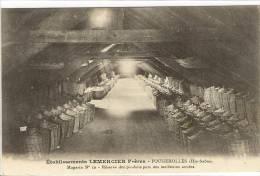 Carte Postale Ancienne Fougerolles - Etablissements Lemercier. Réserve Des Produits Purs Des Meilleures Années - Alcool - Other Municipalities
