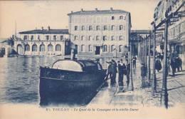 TOULON. Le Quai De La Consigne Et La Vieille Darse - Toulon