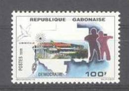 Gabon (1999)  Yv. 974  /  Democracia - Democratie - Democracy - Histoire