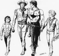[DC1214] CARTOLINEA - TEX - 60 ANNI DI TEX 1948/2008 - Comics