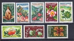 Nouvelle Calédonie  N°314 Au N°321 ** (MNH) - Fleurs - Nueva Caledonia