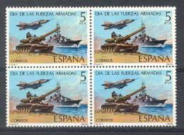 Spain. 1979. Fuerzas Armadas Ed 2525 Bloque - 1971-80 Nuovi