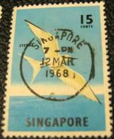 Singapore 1962 Bird Black-naped Tern 15c - Used - Singapore (1959-...)