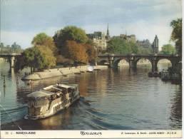 Carte Postale Musicale,Mexisonor, Paris Pointe De La Cité, 45 Tours - A Systèmes