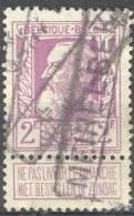 _Me025: N°80: Spoorwegstempel: MEIRELBEKE - 1905 Grove Baard