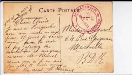 - CARTE De BRIGNOLES (VAR) - 24° BATAILLON DE CHASSEURS Du CAMP De BRIGNOLES - Marcophilie (Lettres)