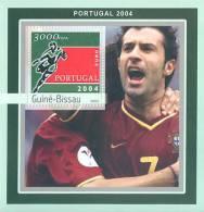 gb3113 Guinea Bissau 2003 Football EURO 2004 Porugal s/s Soccer