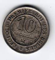 Leopold I 10 Centimes 1864 - 1831-1865: Leopold I