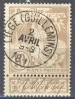 _Me011: N°72: E9: LIEGE(GUILLEMINS) + Blinde Perforatie - 1894-1896 Expositions