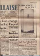 LA MARSEILLAISE 19 MAI 1954/DIEN BIEN PHU BOMBARDE/SERRE-PONCON/ - 1950 - Oggi