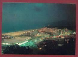A8854 / ALBENA - 1974 Black Sea Resort - NIGHT Hotel, Beach ,sea - Bulgaria Bulgarie Bulgarien - Bulgaria
