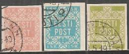 Estonia 1918/19 Nuovo/Usato - Mi. 1B Usato; 2B L*; 4 Usato - Estonia