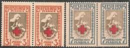 Estonia 1921 Nuovo** - Mi. 29A/30A Coppia - Estonia